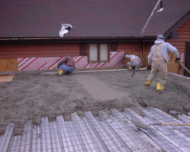 Vulcraft Floor Over Basement